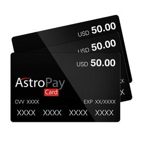 Astropay Cartão De Usd 50,00 Para Jogos Online