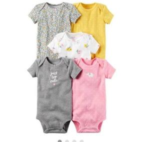 Bodys Carter Set 5 Niña Recién Nacida- Bebés Y Niños