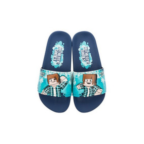 Chinelo Authentic Games Minecraft Sport Gáspea