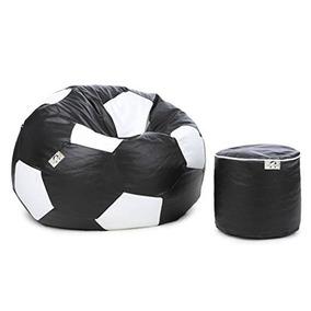 c868ca853c Puff Bola De Futebol Grande!apoio Pés Gamer Todos Os Times!