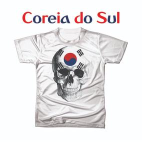 Camiseta Camisa Personalizada Copa Do Mundo Coreia Do Sul