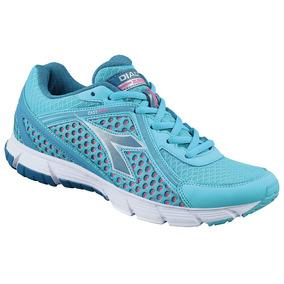 2312ec040db Tenis Esportivo Feminino Academia Diadora Easy Run 2 W Azul