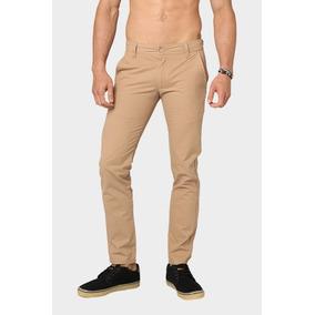 Pantalon Jeans Mezclilla Hombre Caballero Kahki Cafe Claro