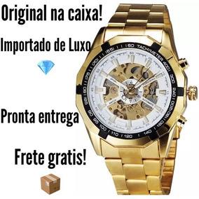 947a4f1902d Relogio Forsining Turbilhao - Joias e Relógios no Mercado Livre Brasil