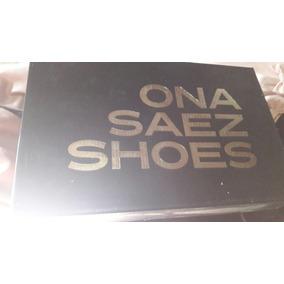 Zapatos De Salir Negros Talle 39 Marca Ona Saez