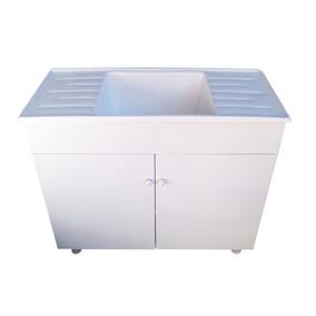 Bajo mesada laqueado blanco muebles de cocina en mercado for Bajo mesada lavadero