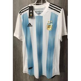 Playeras Oficiales Futbol Argentina 2018 en Mercado Libre México ad9aa127b28