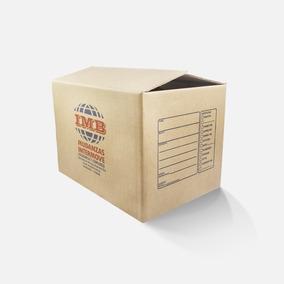 Cajas De Cartón Doble 60*42*42 Cm P/artículos Pesados