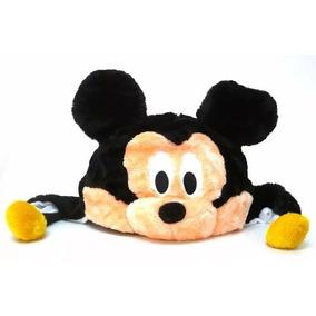 Touca Gorro Infantil Mickey Em Pelucia Antialergica Fantasia f25d4290f97