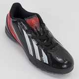 Botines Adidas F50 Negros Y Verdes Fluor Usados - Botines 8ef36330db73f