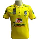 78ccb208f0 Camisa Seleção Brasileira Treino Itaú Viagem - Camisa Masculina de ...