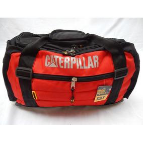 Bolso Caterpillar - Deportivo O Viaje Gran Capacidad - Rojo