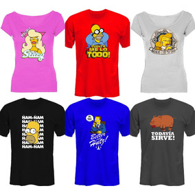 Remeras The Simpsons Unicas! Mira Las Fotos! *mr Korneforos*