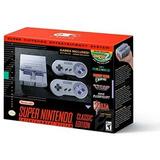 Consola Nintendo Snes Mini (super Nintendo) Nuevas Laaca Gam