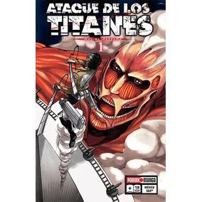 Manga Ataque De Los Titanes Precio Por Tomo Panini - Bnkshop