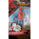 Figura Spiderman Homecoming Traje Hecho En Casa