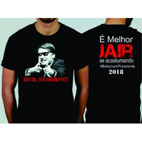 Camisa Bolsonaro Presidente 2018