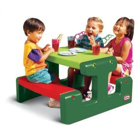 Mesa Y Bancos De Jardín Para Niños - Little Tikes
