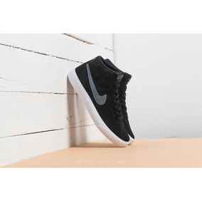 Zapatillas Botitas Nike Sb Bruin Hi Black/grey/white