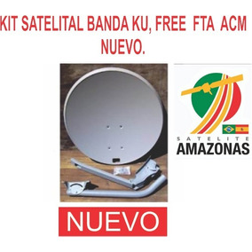 Kit Satelital Ku Free Fta Hd, Sin Instalacion Full Hd Nuevo