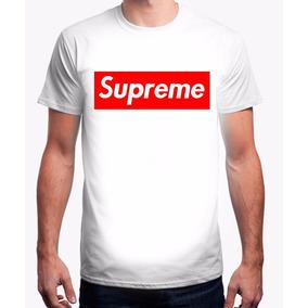 Remera Supreme Blanca Premium