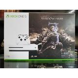 Xbox One S Shadow Of War 1 Tb A Credito Con Envio Gratis!!