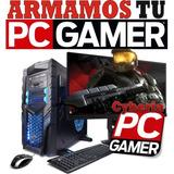 Computadora Pc Gamer I5 7400 8gb Gtx1050 Ti 4gb - Cyberia