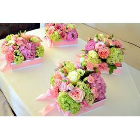 Centros De Mesa Para 15 Con Flores Arte y Artesanas en Mercado