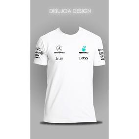 Remera Mercedes Amg Petronas 2017 #77 #44 - Dibujoa Design