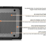 Braven 855s Bocina Bluetooth Para Ipod Iphone Tab Portatil