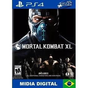 Mortal Kombat Xl Mídia Digital Secundaria Promoção