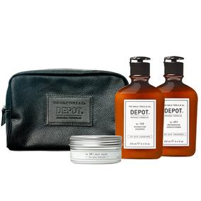 Bolso Depot Acond. 201 Cera Mate 301, Shampoo 103 Hidratante