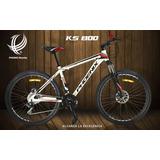 Bicicleta Mountain Bike Phoenix Ks800 26 Aluminio Y Discos