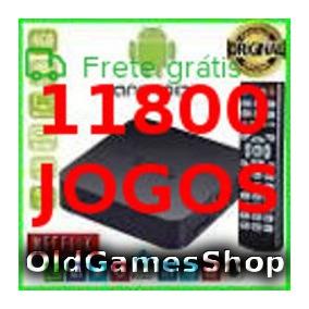 Tvbox Emulador Atari Snes Megadrive Neogeo + 11800 Jogos