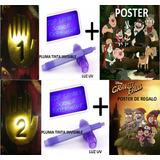 Diario 1 + Diario 2 Gravity Falls A Color Mensajes Ocultos
