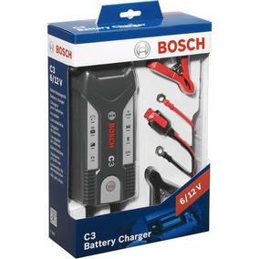 Cargador De Baterias Bosch C3 6v/12v 220v 3,8amp