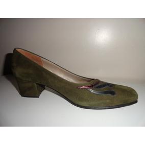 Zapatos Mujer Clásicos Cuero Vestir Secretarias Nuevos