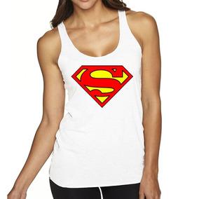 Musculosa Dama Superman Superheroes Comics Mod3