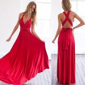 Vestido De Fiesta Largo 15 Posturas Diferente |por Encargue|