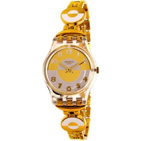 México En Dorados Relojes Dama Libre Mercado Swatch zqSUVGpM