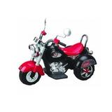 Moto Chopper Bebesit Batería Para Niños Negra 1136 El Cerro