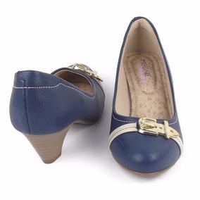 40198fad70 Sapatos Femininos Scarpin Cor Principal Azul - Sapatos em São Paulo ...