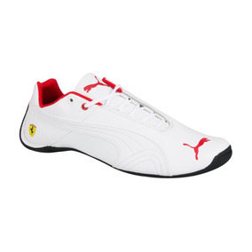 Tenis Casual De Niño puma Future Cat Blanco Piel Is1112