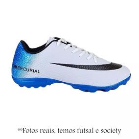 aac52db2f59a2 Chuteira Salão Quadra Nike adidas Cr7 Frete Off 12x S/ Juros