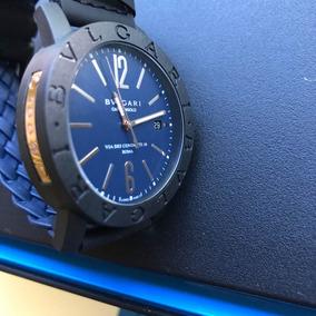 Relogio Bulgari Carbon Gold De Luxo Outras Marcas - Relógios De ... 9abfa21cc0