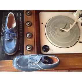 Antiguos Zapatos Colegiales Retro 60s Prevent -arc Vintage
