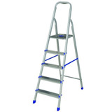 Escalera Aluminio 5 Escalones Mor. Pintureria America