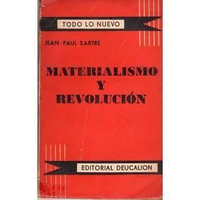 Materialismo Y Revolución - Jean-paul Sartre