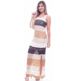 Vestido Estampado Longo De Malha Moda Evangelica Gestante