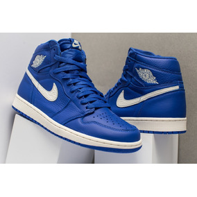 ac36bd89314ee Tenis Nike Air Jordan 1 Retro High Og Hyperroyal He Got Game